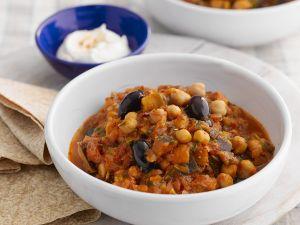 Garbanzo Bean Casserole recipe