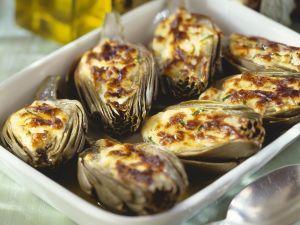 Glazed Artichoke Hearts recipe