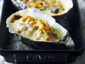 Glazed Oysters recipe