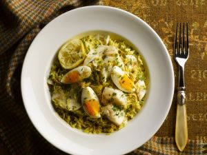 Gluten Free Curried Haddock and Rice Bake recipe