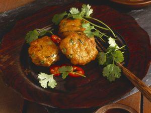 Gluten Free Thai Fish Cakes and Cucumber Salad recipe