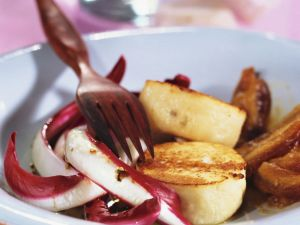 Goats' Cheese Medallions recipe