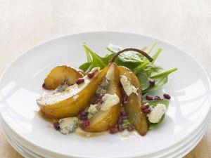 Gorgonzola and Sliced Pears recipe