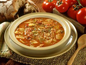 Paprika and Fish Soup recipe