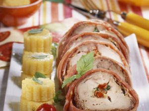 Gourmet Prosciutto-wrapped Beef recipe