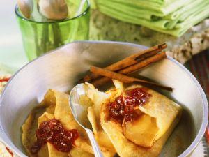 Grain Pancakes with Fruit recipe