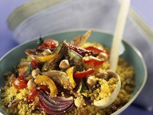 Grain Salad with Veggies recipe