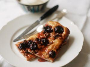 Grape and Walnut Focaccia recipe