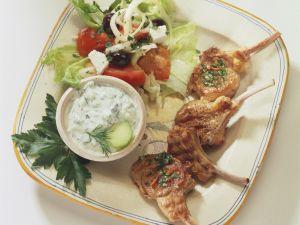 Greek-style Lamb Dinner recipe