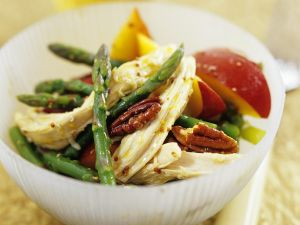 Green Asparagus with Chicken recipe