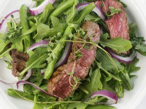 Green Bean and Arugula Steak Salad recipe