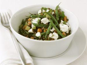 Green Bean and Lentil Salad recipe