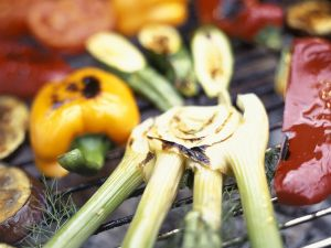 Grilled and Marinated Vegetables recipe