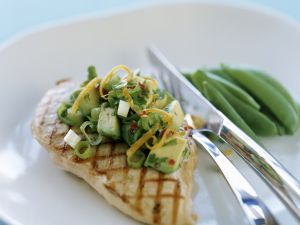 Avocado Salad with Chicken recipe