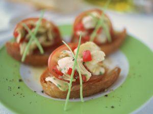 Ham and Artichoke Crostini recipe