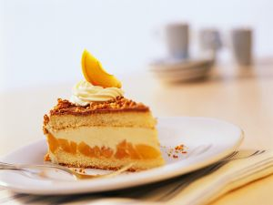 Hazelnut Torte with Apricot Filling recipe