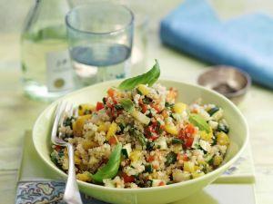 Healthy Grain and Veggie Bowl recipe