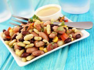 Healthy Mixed Bean Plate recipe