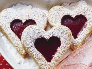 Heart-Shaped Sandwich Cookies recipe