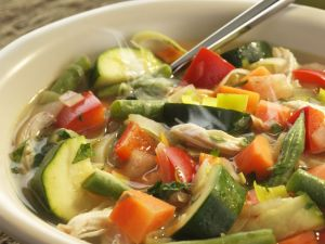 Hearty Chicken and Veggie Soup recipe