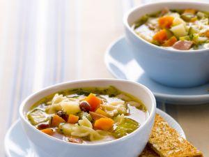 Hearty Farfalle Soup recipe