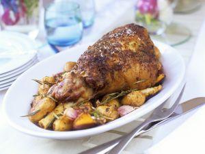 Herby Lamb Roast recipe
