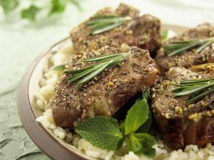 Herby Lamb Steaks recipe