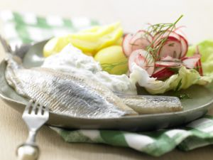 Herring with Horseradish Cream recipe