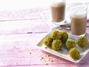 Honey and Pistachio Balls recipe