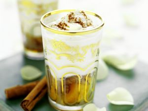Honeyed Yoghurt Desserts recipe