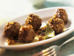 Iberian Meatballs recipe