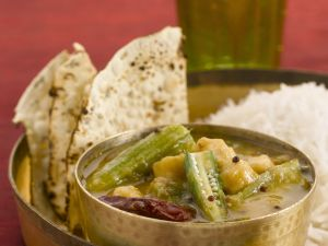 Indian Vegetable Dish with Okra recipe