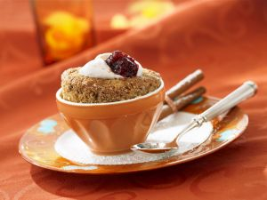 Individual Nut Coffee Souffles recipe