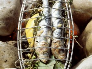 Italian Style Grilled Sardines recipe
