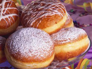 Jam-Filled Doughnuts recipe