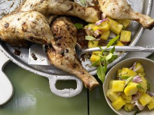 Jamaican Chicken Thighs recipe