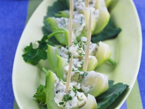 Kohlrabi with Spicy Sour Cream recipe