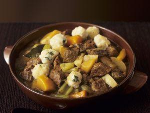 Lamb and Vegetable Stew with Dumplings recipe