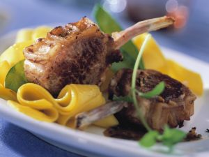Lamb Chops with Herbs recipe