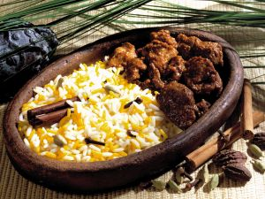 Lamb Curry with Spiced Rice recipe