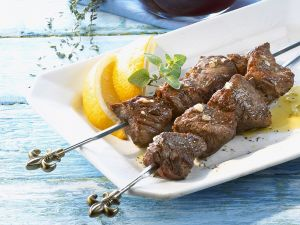 Lamb Skewers with Thyme recipe
