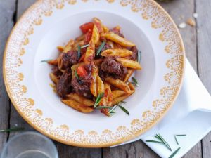 Lamb Stew with Pasta recipe