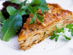 Lasagne with Meat Sauce recipe
