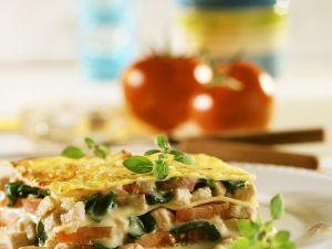 Layered Pasta Bake with Chicken recipe