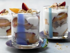 Layered Plum Parfait recipe