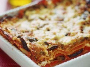 Layered Veggie Pasta Bake recipe