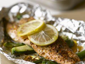 Lemon Fish in Foil Parcels recipe