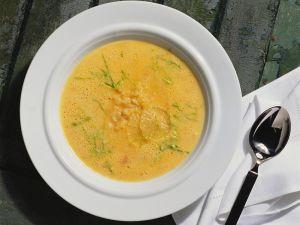 Lemony Fish and Rice Soup recipe