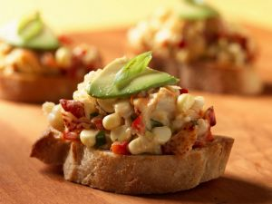 Lobster Bruschetta recipe