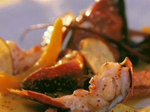 Lobster with Vegetables recipe
